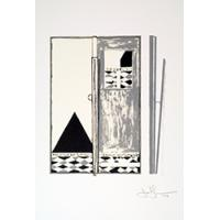 Art © Jasper Johns and Gemini G.E.L./Licensed by VAGA, New York, NY.  Published by Geimini G.E.L.